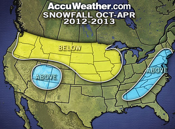 Our Take on Accuweather.com's 2012-2013 Official Winter Forecast